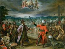 Allegory of the Turkish Wars: The Declaration of War at
